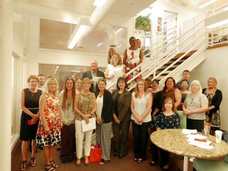 MICHAEL SAUNDERS & COMPANY (MSC) FOUNDATION GRANT RECEIVED