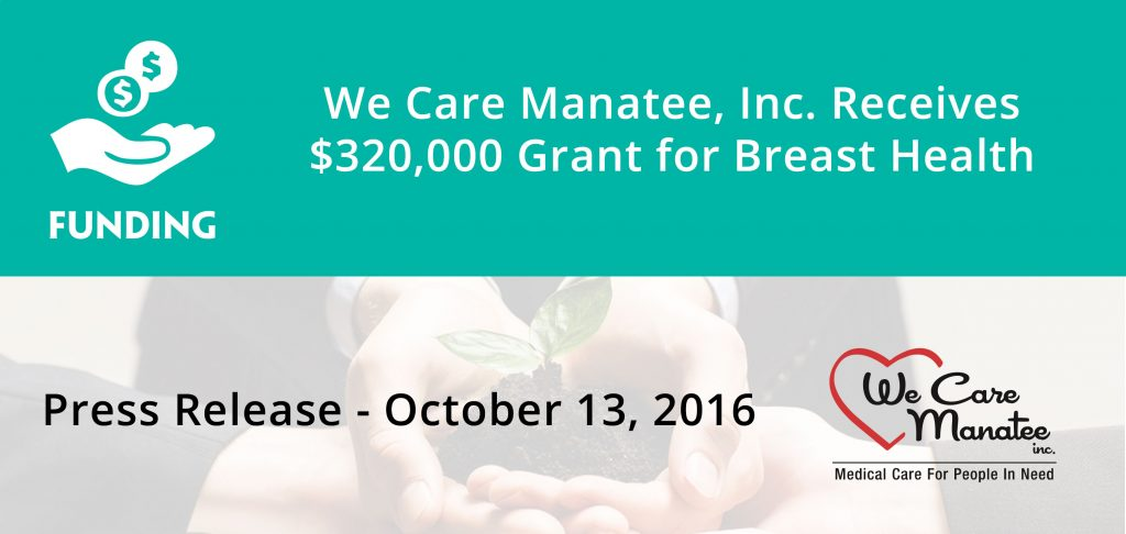 $320,000 Grant for Breast Health Banner