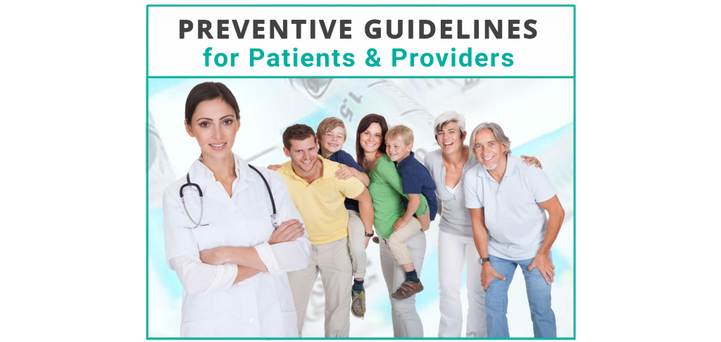 Preventive Guidelines Cover